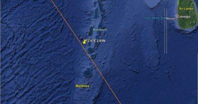 Cayó el cohete chino que estaba fuera de control y se desintegró en el Océano Índico