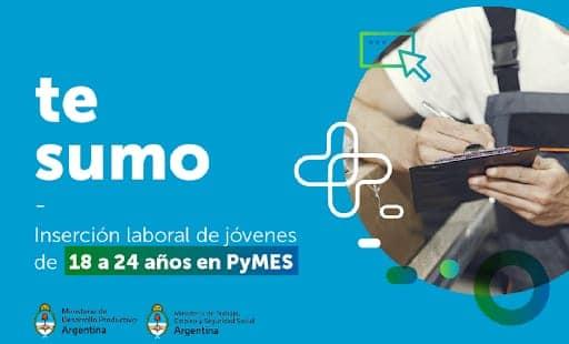 """Lanzamiento del programa """"Te Sumo""""."""