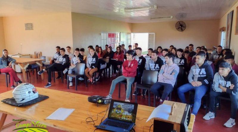 Charlas de Educación Vial en las Instituciones Educativas de Campo Viera